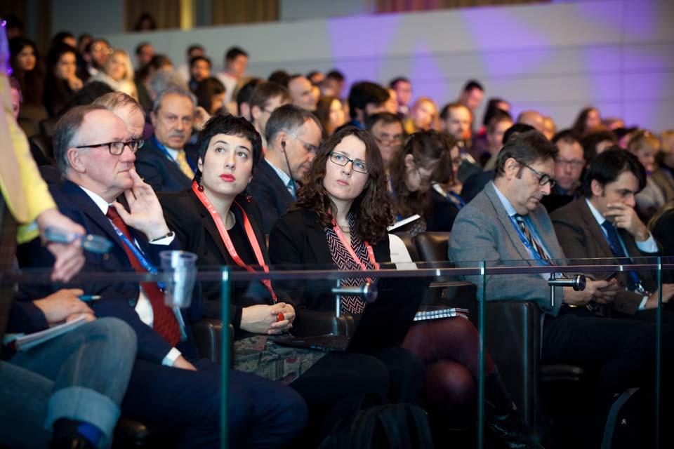 European Summit on Innovation for Active and Healthy Ageing, mesa Itziar Álvarez