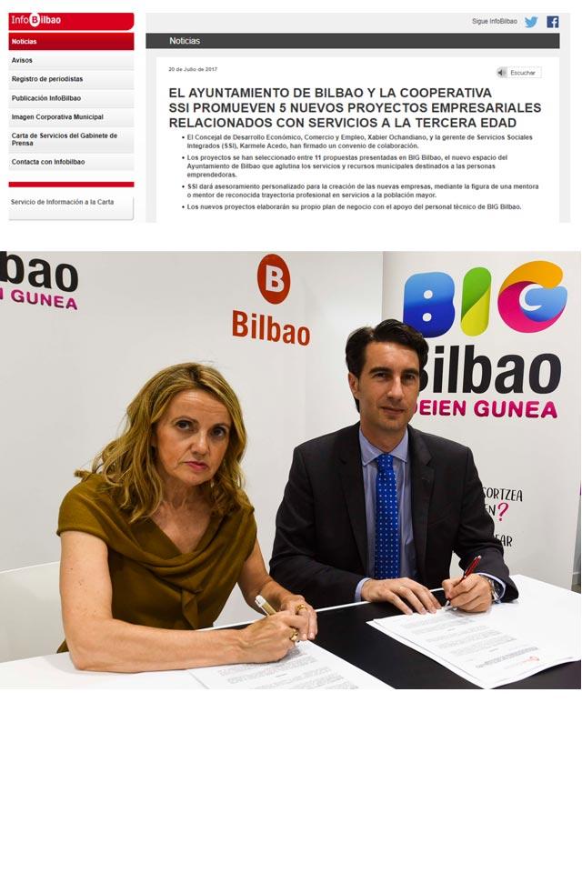 Acuerdo Ayuntamiento Bilbao - Grupo SSI. 20/07/2017