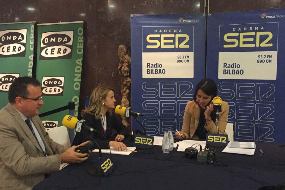 Feria Prestik 16, Grupo SSI, entrevista en Cadena Ser