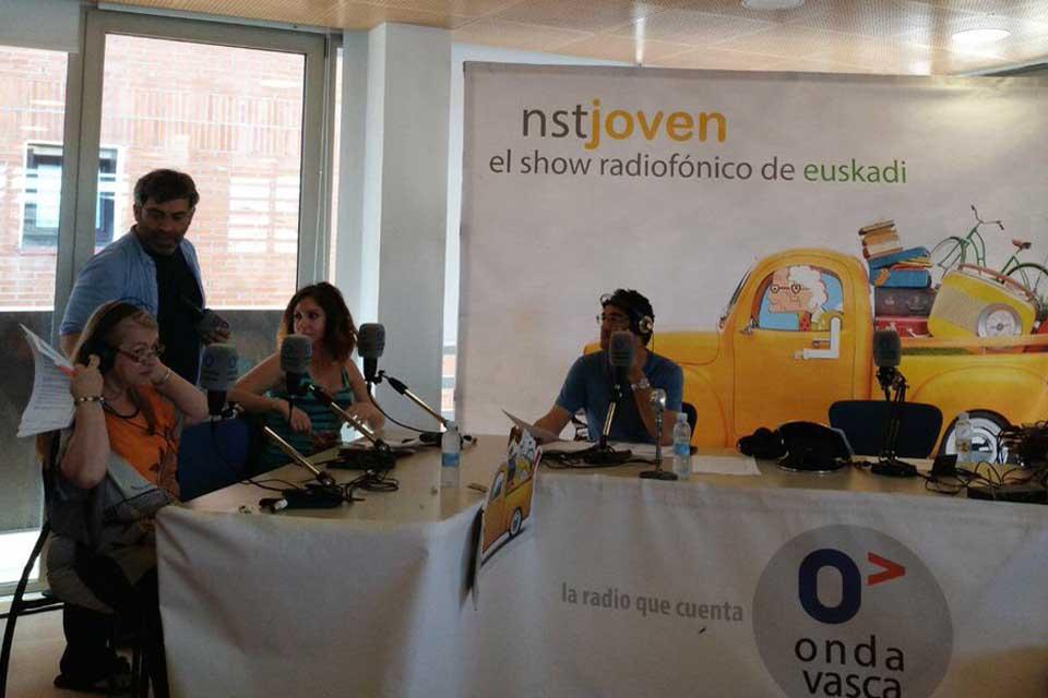 NSTJ ON AIR desde el Nagusien Etxea de Berango, Ana Vega