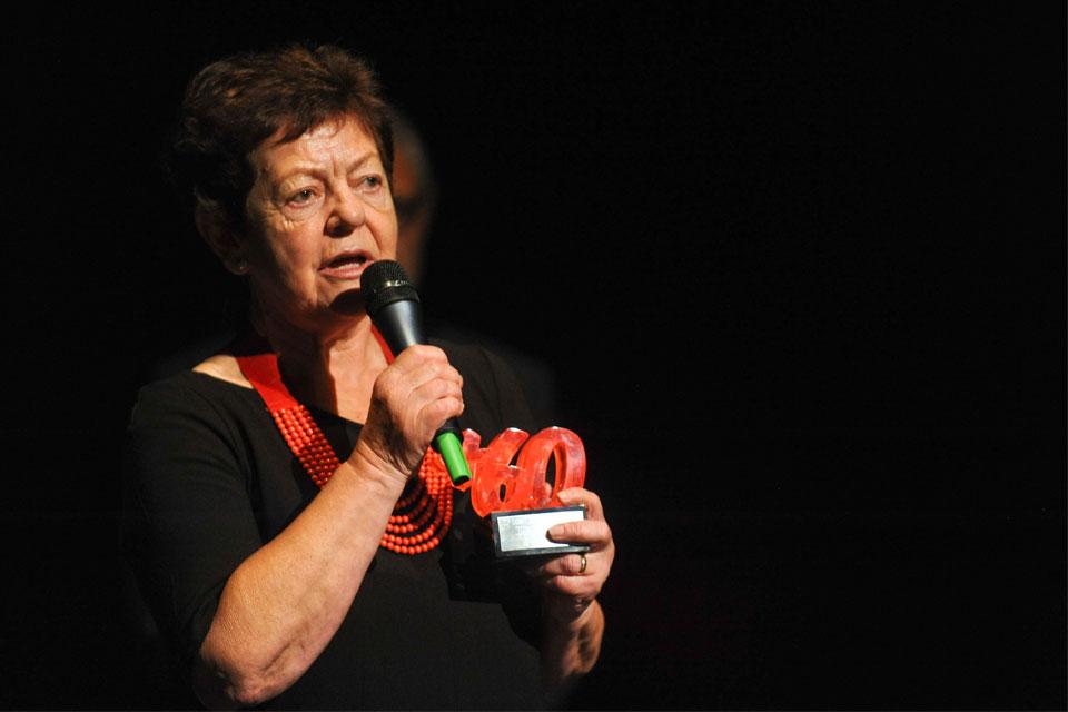 Entrega de premios B60+ Bilbao, Mª Luisa Mendizabal