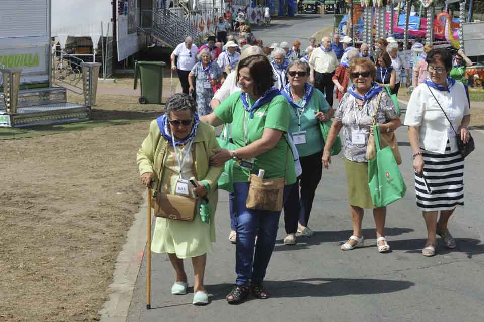 Aste Nagusia, Día de las Personas Mayores, Grupo SSI