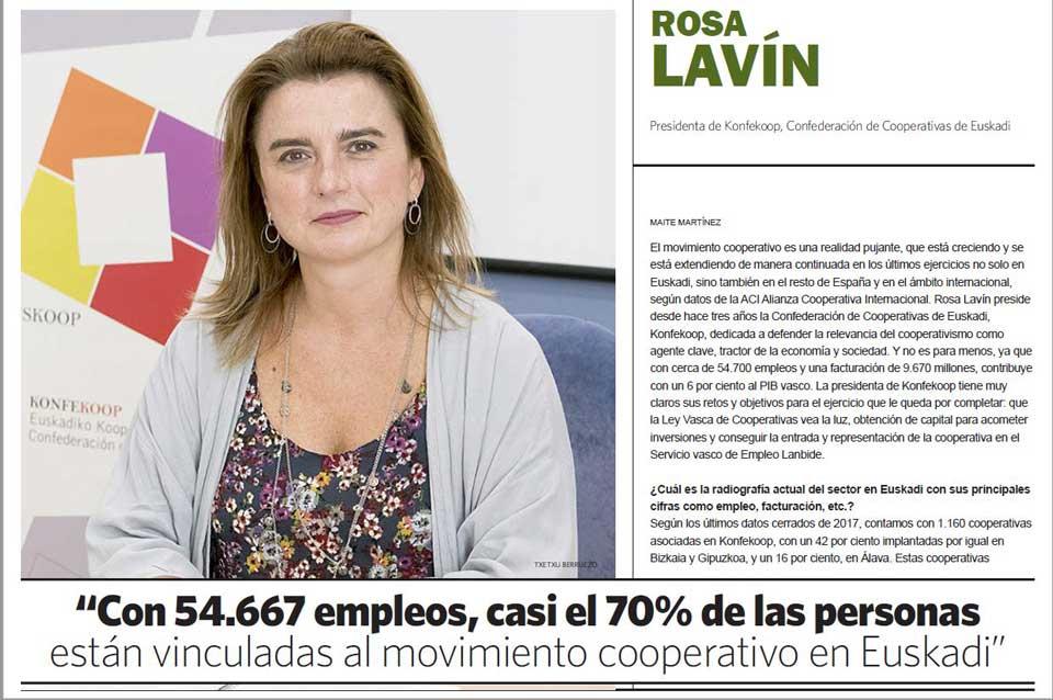 rosa lavin entrevista el economista Cooperativismo