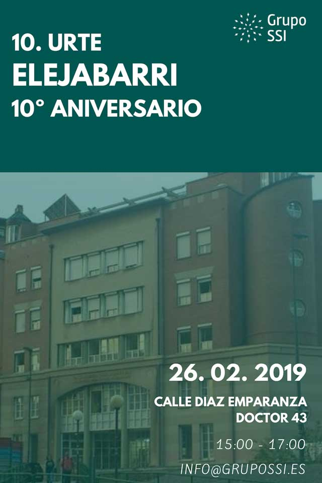 10º aniversario Elejabarri. 26 Febrero 2019