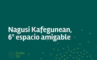 Nagusi Kafegunean, espacios amigables alrededor de un café