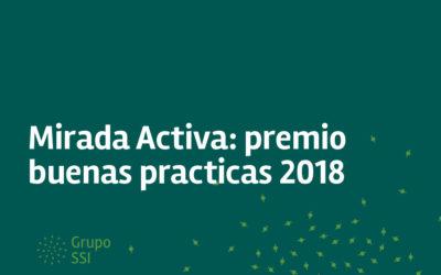 Mirada Activa: premio buenas prácticas 2018